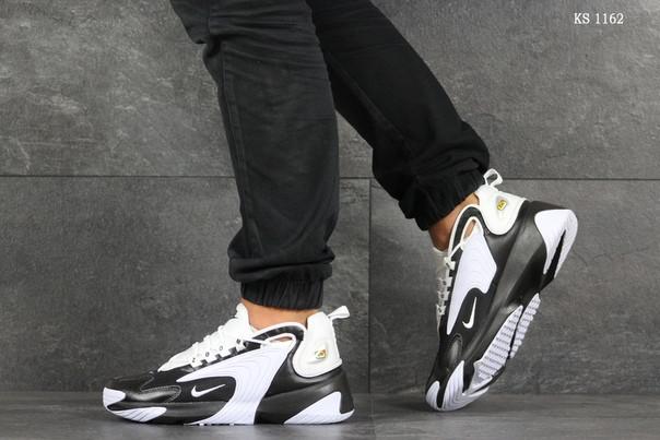Мужские кроссовки Nike Zoom 2K (черно-белые) KS 1162