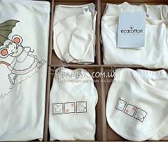 """Подарочный набор Ecocotton (9-предметов) для новорожденного """"Beby"""""""
