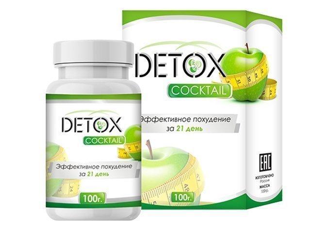 Коктейль для похудения и очищения организма Detox (Детокс)