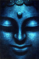 Постер Голубой Будда, 40.6х50.8 см