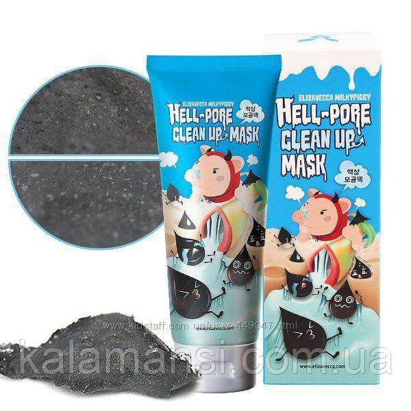 Маска пленка для очищения пор Elizavecca, Milky Piggy Hell Pore clean up
