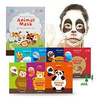 Забавные масочки с изображением животных Berrisom Animal Mask Series 25мл