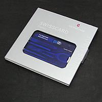 Набор Victorinox Swiss Card Sapphire (0.7122.T2)