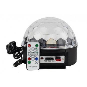 Светомузыка диско шар Magic Ball Music MP3 плеер с bluetooth