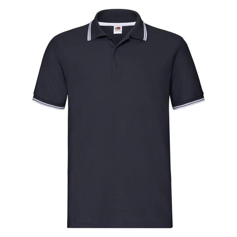 Мужская рубашка поло Premium Tipped Polo (Размер: 2XL)