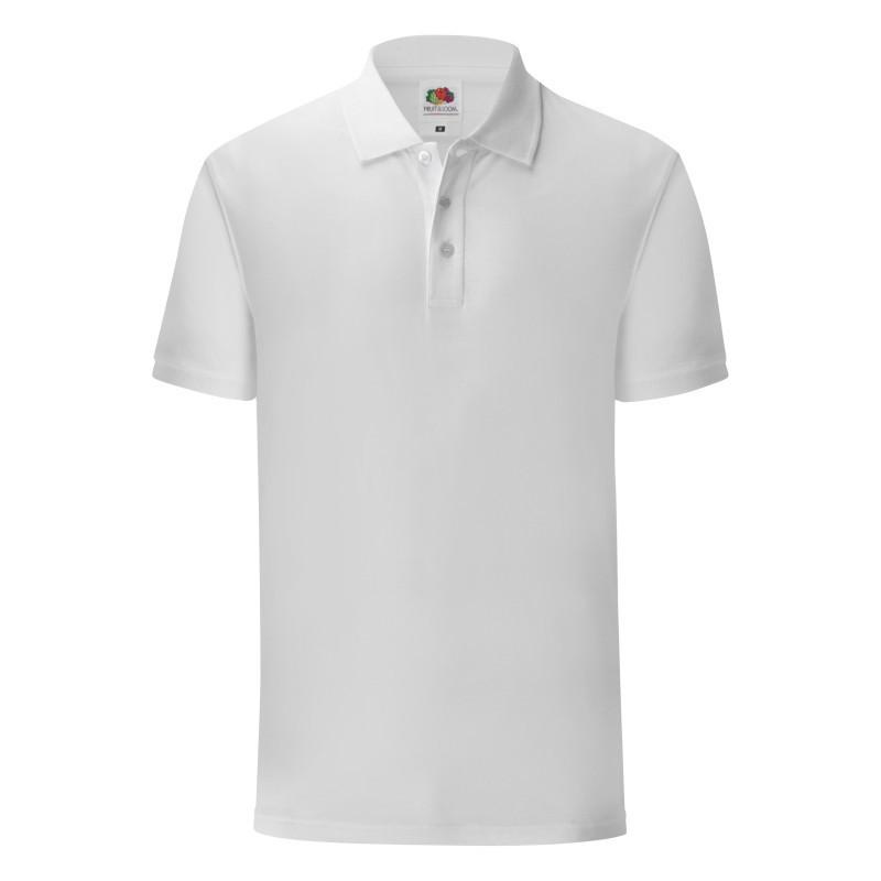 Мужская рубашка поло Iconic Slim fit Polo (Цвет: Белый; Размер: 2XL)