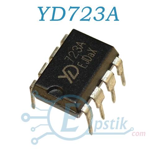 YD723A, ШИМ контроллер питания, DIP8