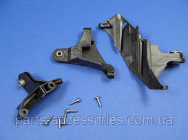 Фара правая ремонтный комплект ухо крепление кронштейн Mercedes E W211 2003-2009 комплект 3 крепления новый