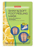 Пиллинг-носочки для ног от Purederm, Shiny Soft Foot Peeling Mask