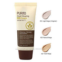 ВВ крем с экстрактом улитки PURITO Snail Clearing BB Cream SPF38 PA+++, 30 мл, фото 1