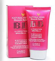 ВВ крем DABO Natural Herb Blemish Balm BB Cream Whitening SPF 47PA+++ , 50мл