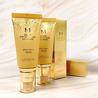Матирующий ВВ крем Missha M Gold Perfect Cover BB Cream SPF42PA 50мл