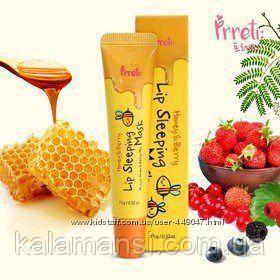 Ночная маска для губ Prreti Honey and Berry Lip Sleeping Mask, 15 мл