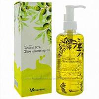 Гидрофильное масло с маслом оливы и 5-ю маслами Elizavecca Milky Wear Natural 90% Olive Cleansing Oil, 300 мл