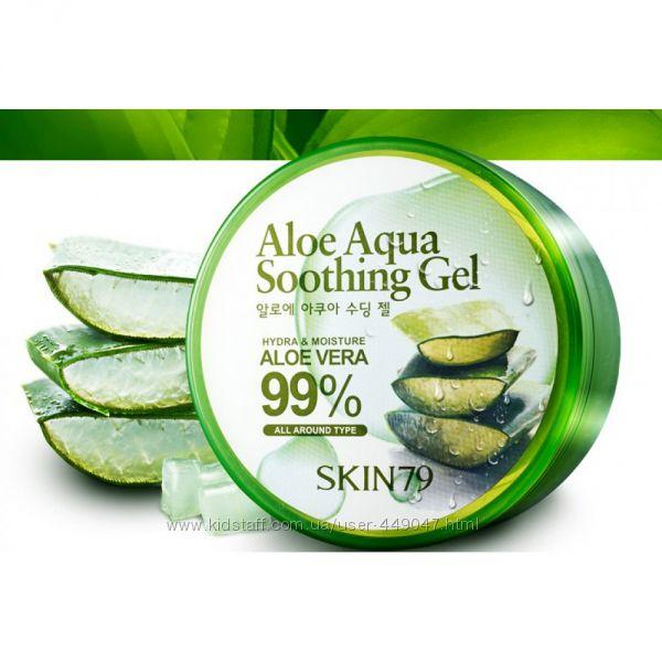 Гель с Алоэ Вера SKIN79, Aloe Aqua Soothing Gel 99, 300мл
