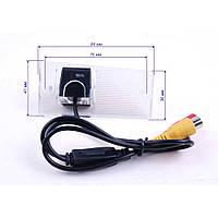 Штатная камера заднего вида iDial CCD-186 KIA Sportage II (2004-2010), Sorento I (2003-2006)
