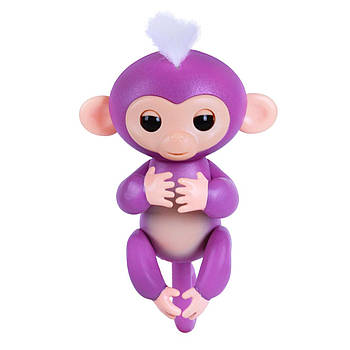 Умная игрушка обезьянка Fingerlings Happy Monkey Purple (004480)