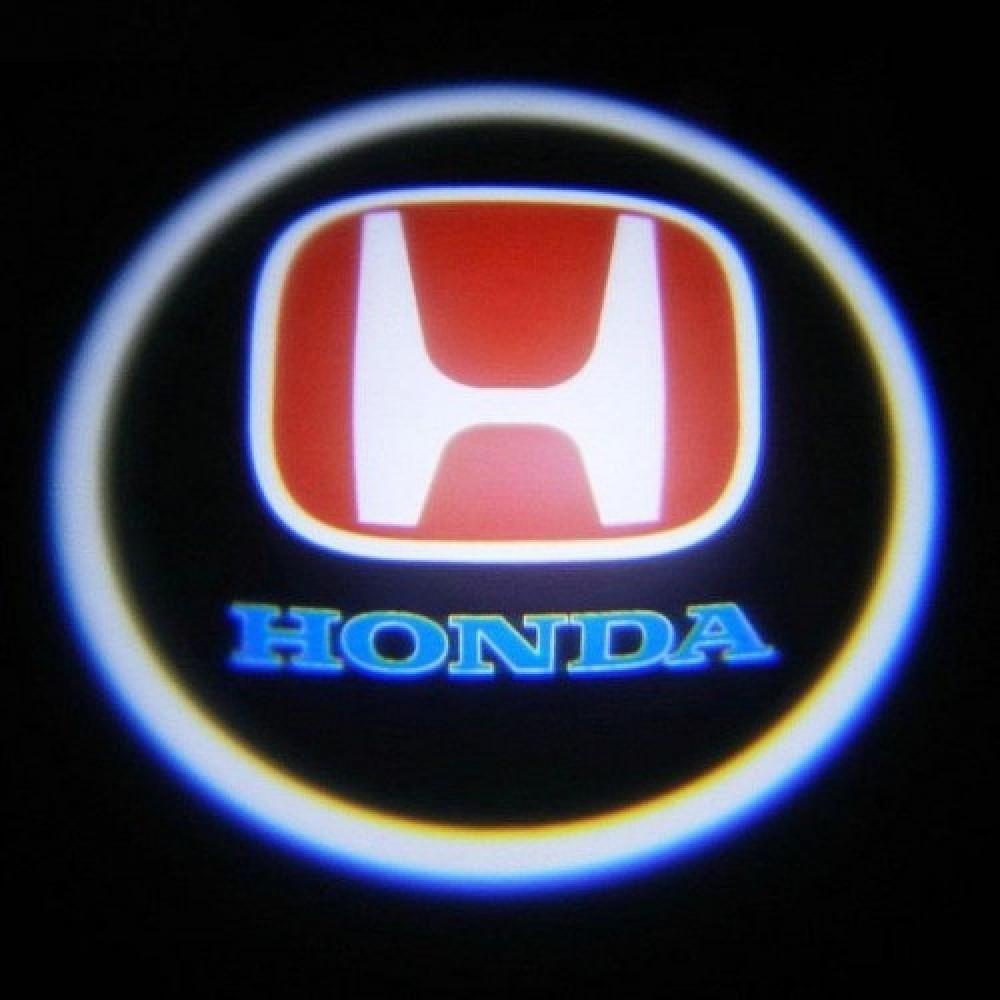 Дверной логотип LED LOGO 004 HONDA (ОПТОВАЯ цена от 100 шт)