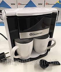 Електрична Кавоварка + 2 чашки DOMOTEC MS-0708