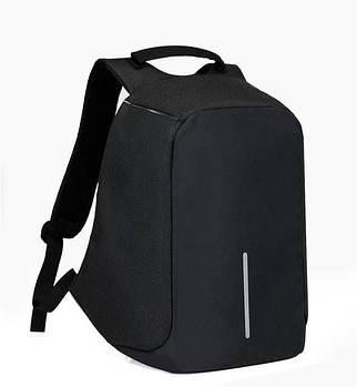 """Рюкзак Antivor c защитой от карманников и с USB зарядным устройством 15"""" Black"""