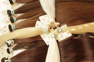 45 см настоящие славянские волосы