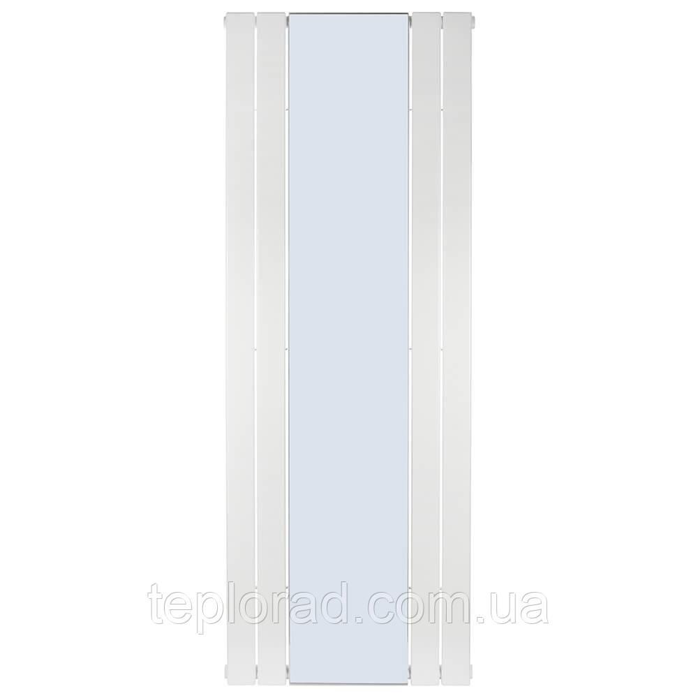 Трубчастий радіатор Betatherm Mirror PE 1118/08 1800x609x90 мм вертикальний RAL9016