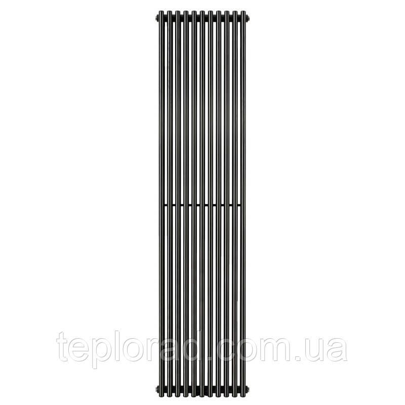 Трубчатый радиатор Betatherm Praktikum 1 1800x387x90 мм вертикальный RAL9005М