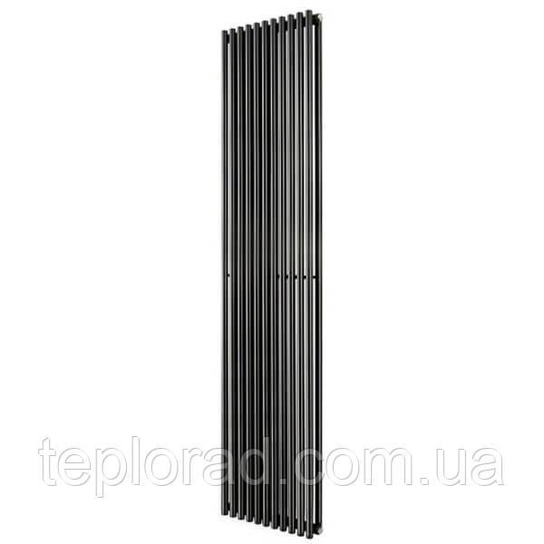 Трубчатый радиатор Betatherm Praktikum 2 1800x425x104 мм вертикальный RAL9005 МАТ