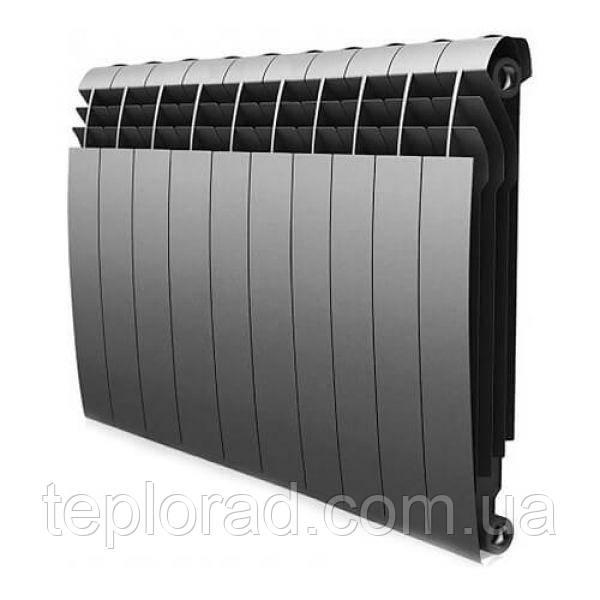 Радиатор Royal Thermo BiLiner 500/87 Silver Satin 12 секций (НС-1175301)