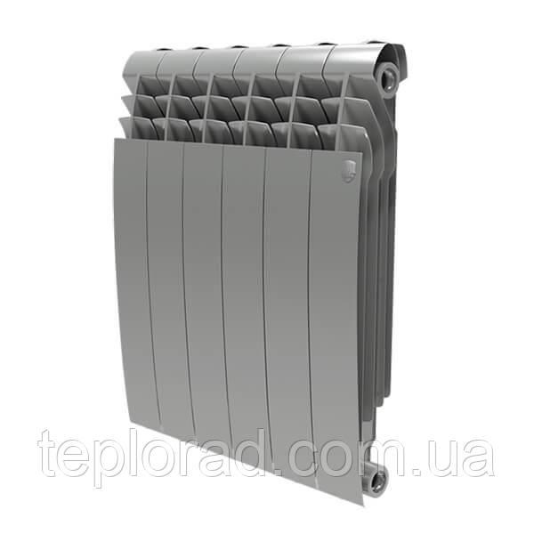 Радиатор Royal Thermo BiLiner 500/87 Silver Satin 4 секции (НС-1175555)