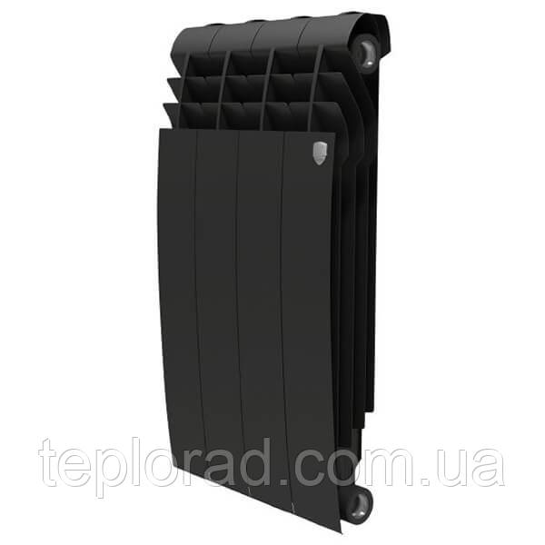 Радиатор Royal Thermo BiLiner 500/87 Noir Sable 4 секции (НС-1175554)