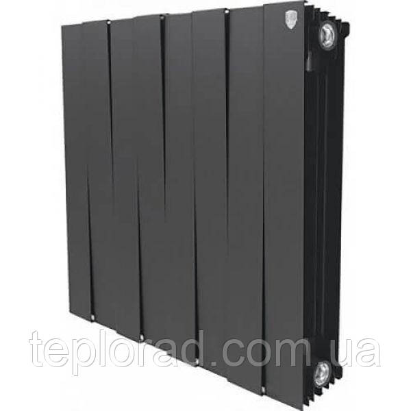 Радиатор Royal Thermo Piano Forte 591/100 Noir Sable 8 секций (НС-1161573)