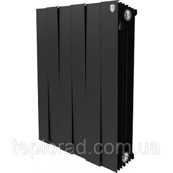 Радиатор Royal Thermo Piano Forte 591/100 Noir Sable 6 секций (НС-1054874)