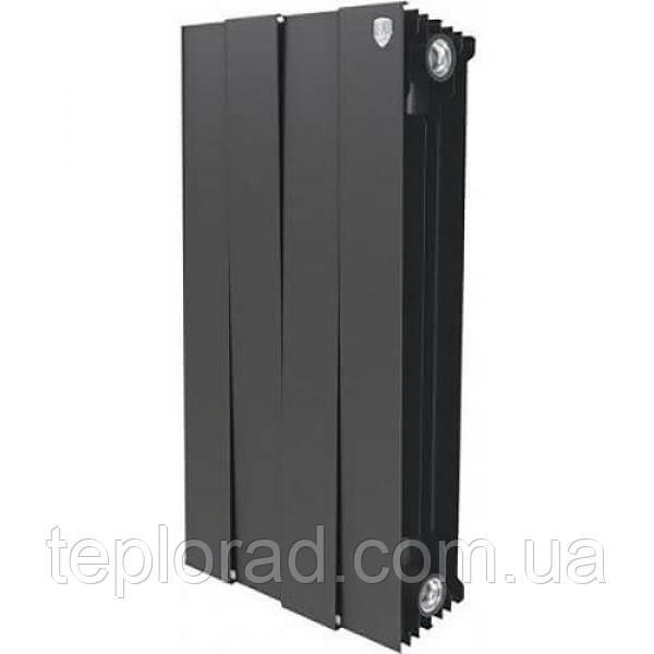 Радиатор Royal Thermo Piano Forte 591/100 Noir Sable 4 секции (НС-1161616)