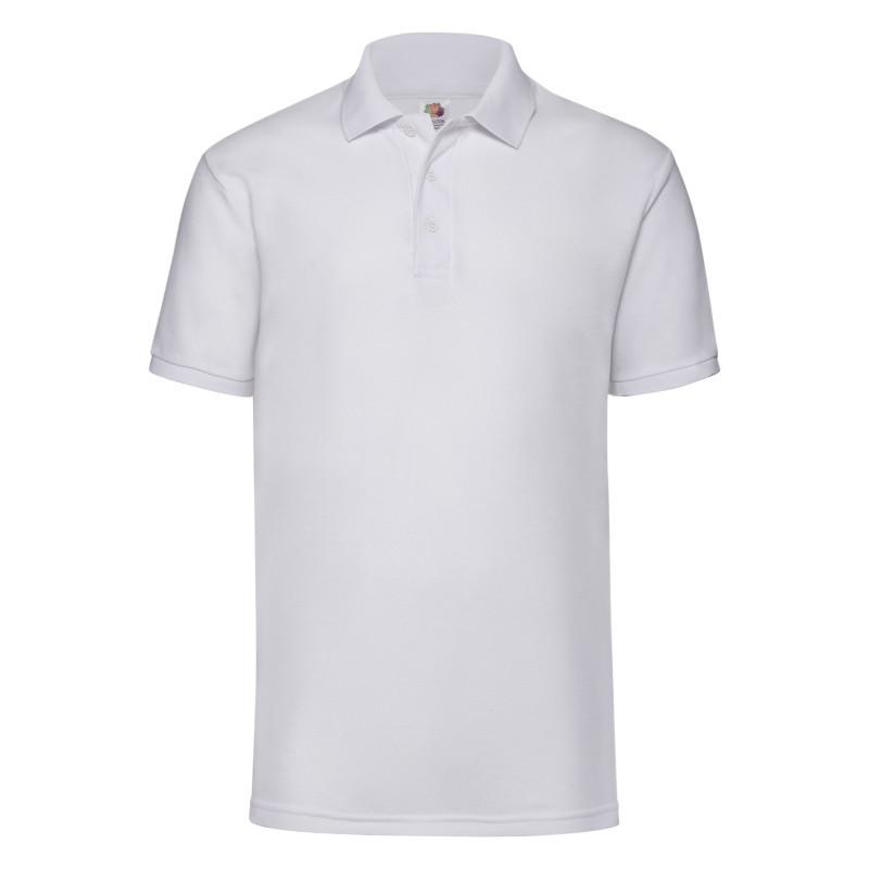 Мужская рубашка поло 65/35 Polo (Цвет: Белый; Размер: 2XL)