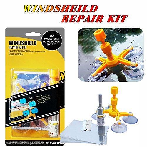 Набор для ремонта трещин лобового стекла Windshield Repair Kit D1001
