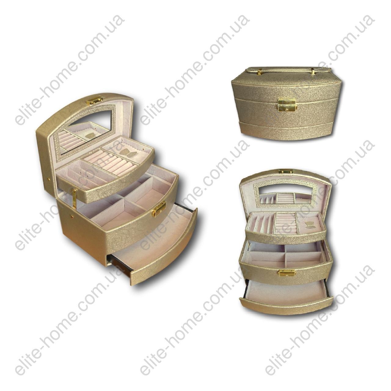 Шкатулка - автомат (трансформер) для украшений (21,5х15х13см)