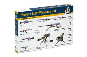 Набор современного легкого оружия. 1/35 ITALERI 6421