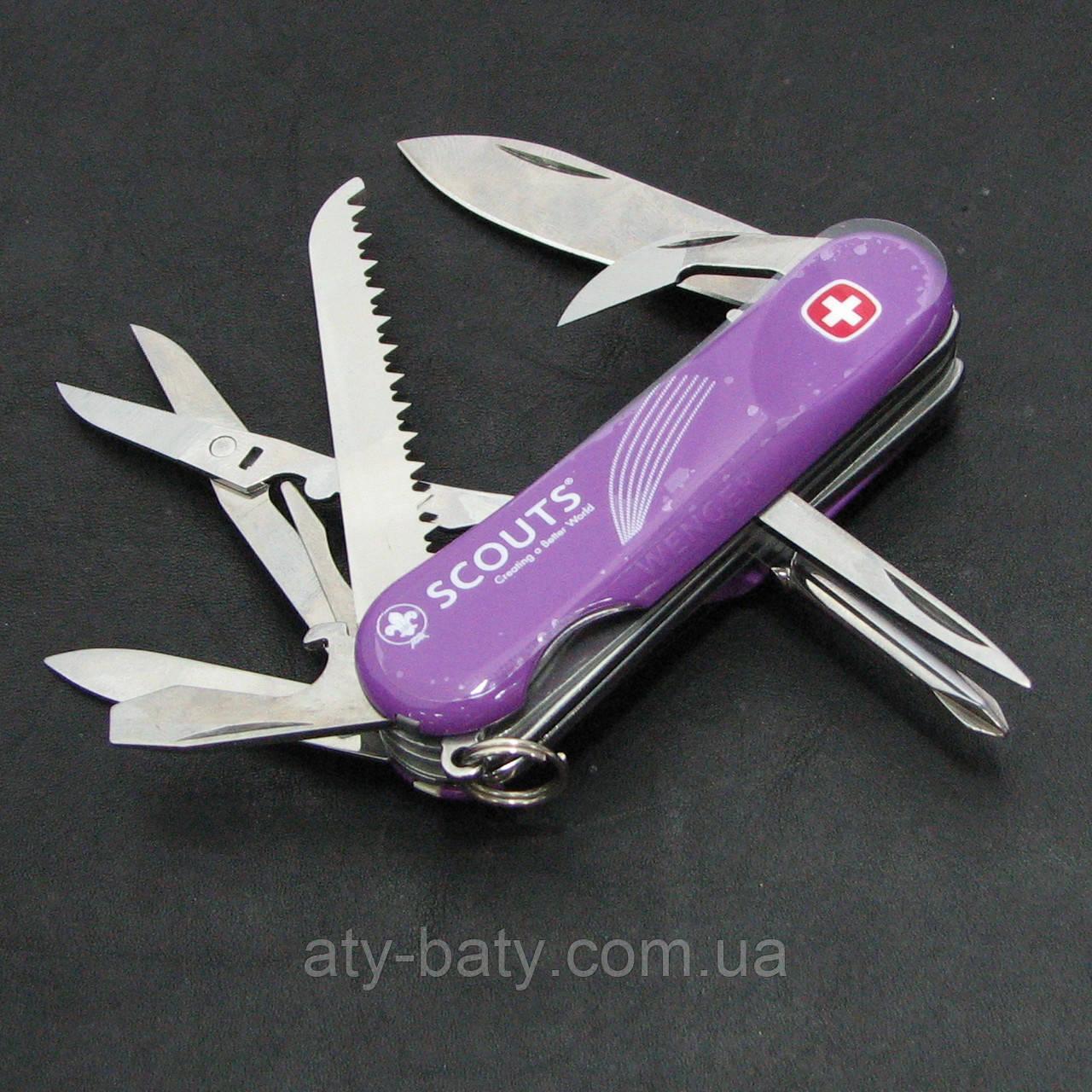 Нож Wenger Scout Junior в подарочной коробке (1.18.92.327 X)