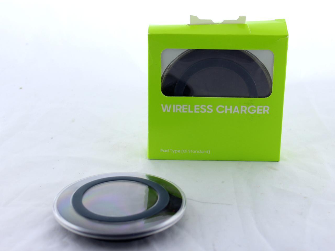Адаптер для телефона беспроводной S6 QI wireless charger (ОПТОВАЯ цена от 240 шт)