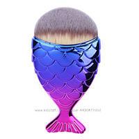 Шикарная многофункциональная кисть Рыбка для макияжа Fish Tail Brush