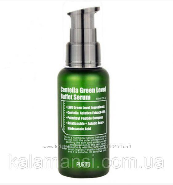 Сыворотка с центеллой PURITO Centella Green Level Buffet Serum 60ml