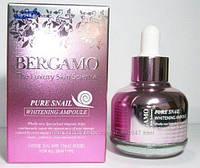 Сыворотка для лица премиум-класса с экстрактом улитки BERGAMO Snail 30 мл, фото 1