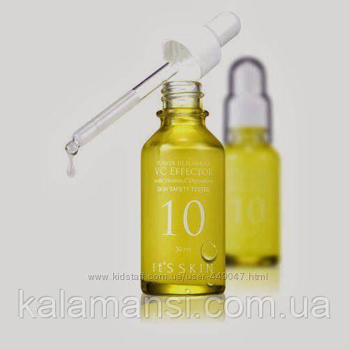Сыворотка c витамином С для тонуса кожи, капиляров Its skin Power 10 VC