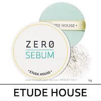 Прозрачная матирующая пудра Etude House Zero Sebum Drying Powder 6г