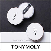 Прозрачная матирующая пудра Tony Moly Face Mix Oil paper Powder 9г