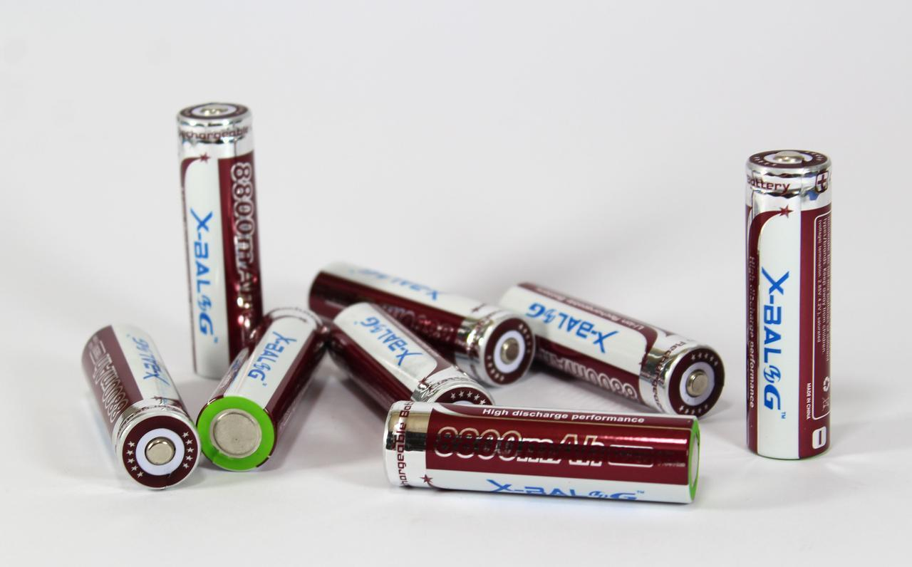 Батарейка BATTERY 18650 PURPLE (фиолетовый) (ОПТОВАЯ цена от 600 шт)
