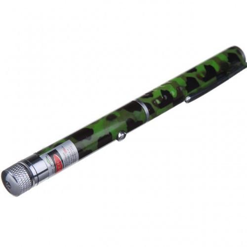 Зеленая Лазерная указка LASER POINTER 200 mW камуфляж