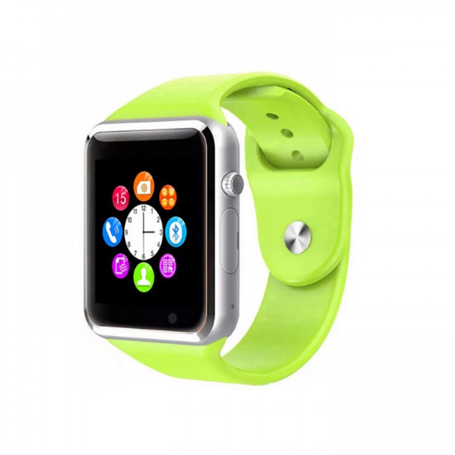 Смарт часы телефон Smart Watch A1 Green