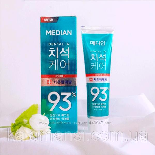 Зубная паста от воспаления десен Median 93 Green Toothpaste 120 мл